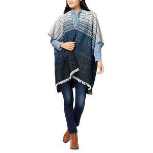 Lucky Brand | Degrade Geo Striped Fringe Kimono